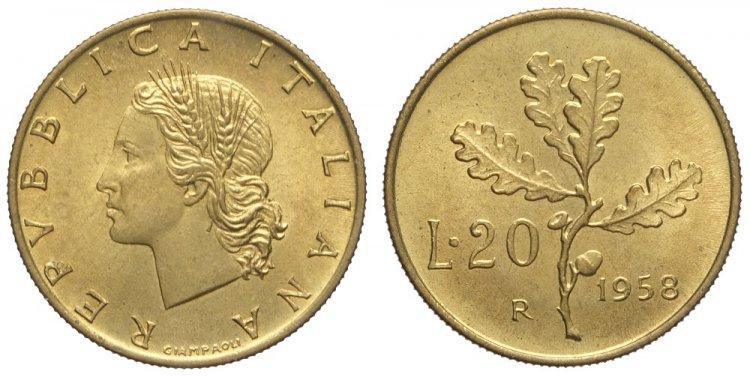 LOT 168) Repubblica Italiana, ...