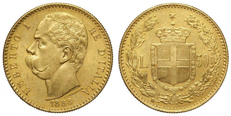LOT 77) Regno d'Italia, Umberto I, ...