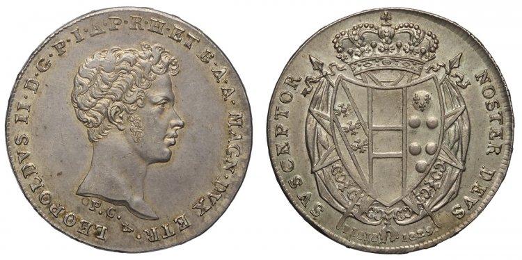 LOT 4) Firenze, Leopoldo II di ...