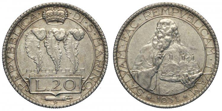 San Marino, Vecchia Monetazione, ...